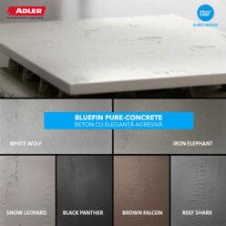bluefin pure concrete