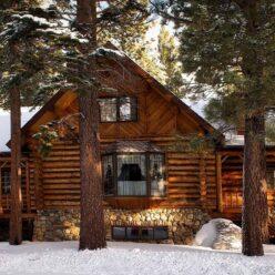 efectul antichizat cabana alpina